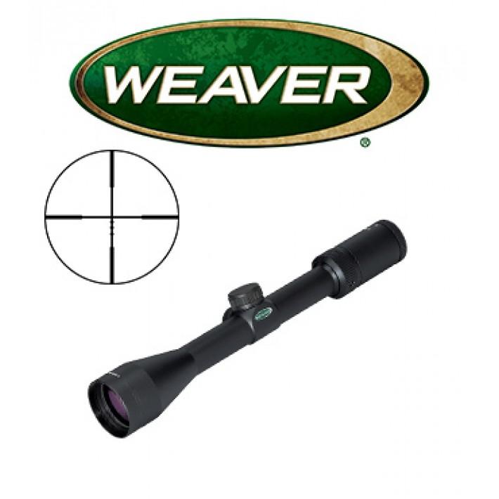 Visor Weaver Kaspa 3-9x40 de 1'' con retícula Ballistic X