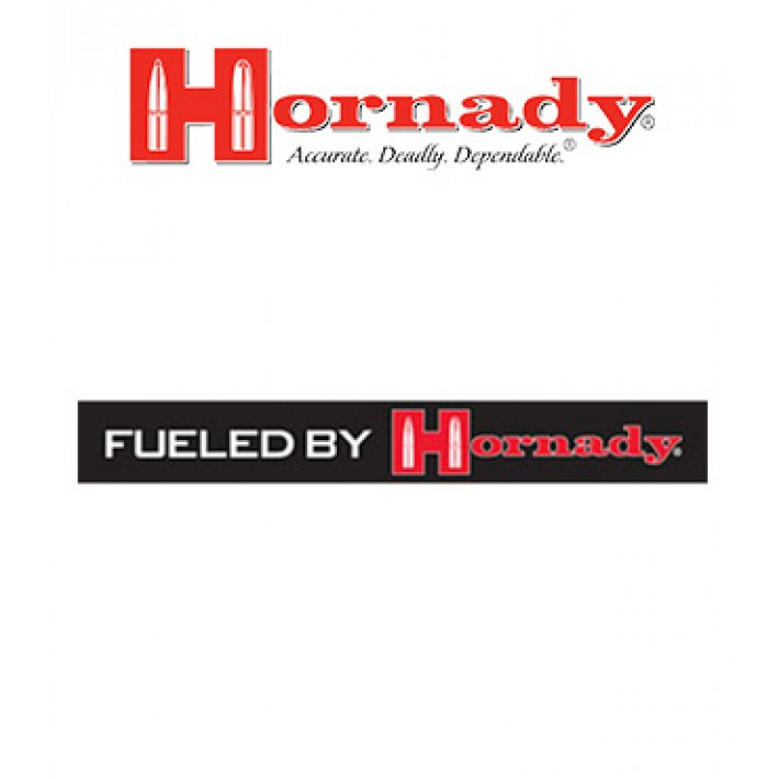 "Pegatina Hornady ""Fueled by Hornady"""