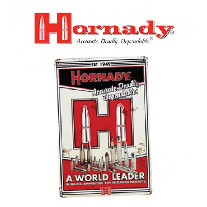Placa metálica Hornady Vintage