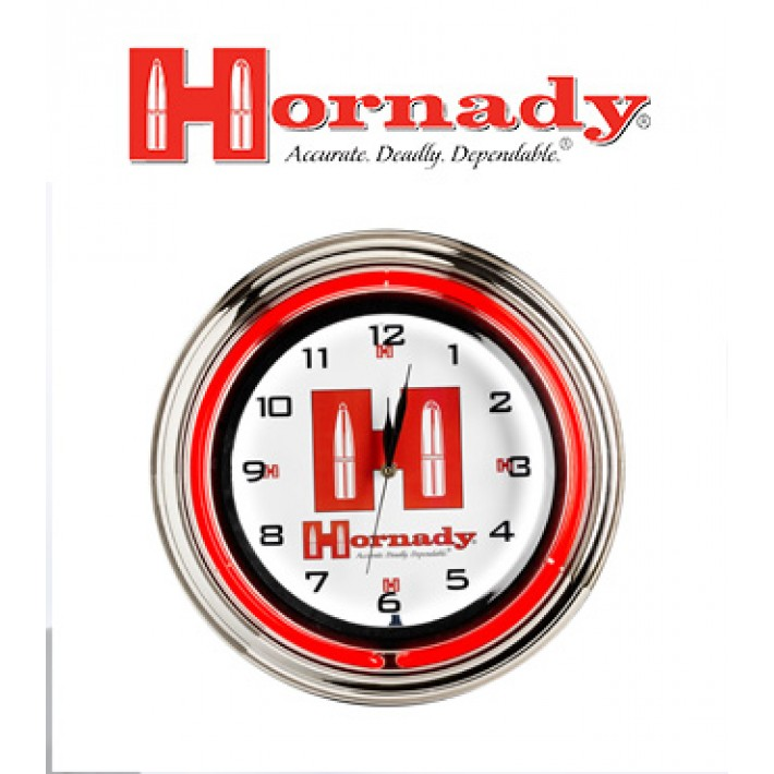 Reloj de pared Hornady Retro