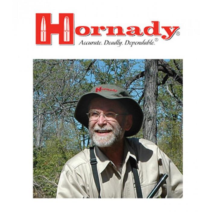 Gorro boonie Hornady verde con la firma de Steve Hornady