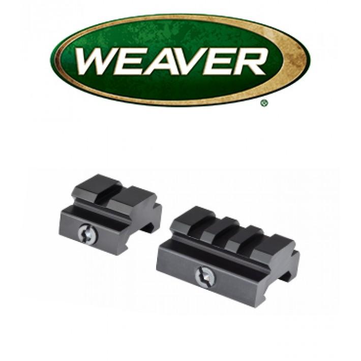 Bases elevadas Weaver Riser Set
