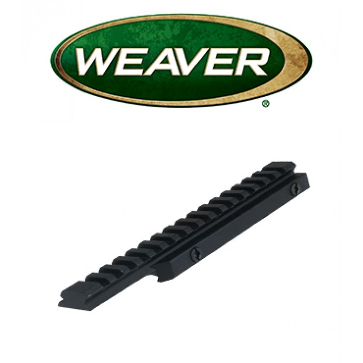 Base elevada Weaver AR Flat Top de 20 MOA