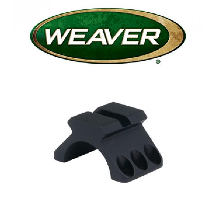 "Mitad superior de anilla Weaver 6 Hole Tactical de 1"" con raíl picatinny"