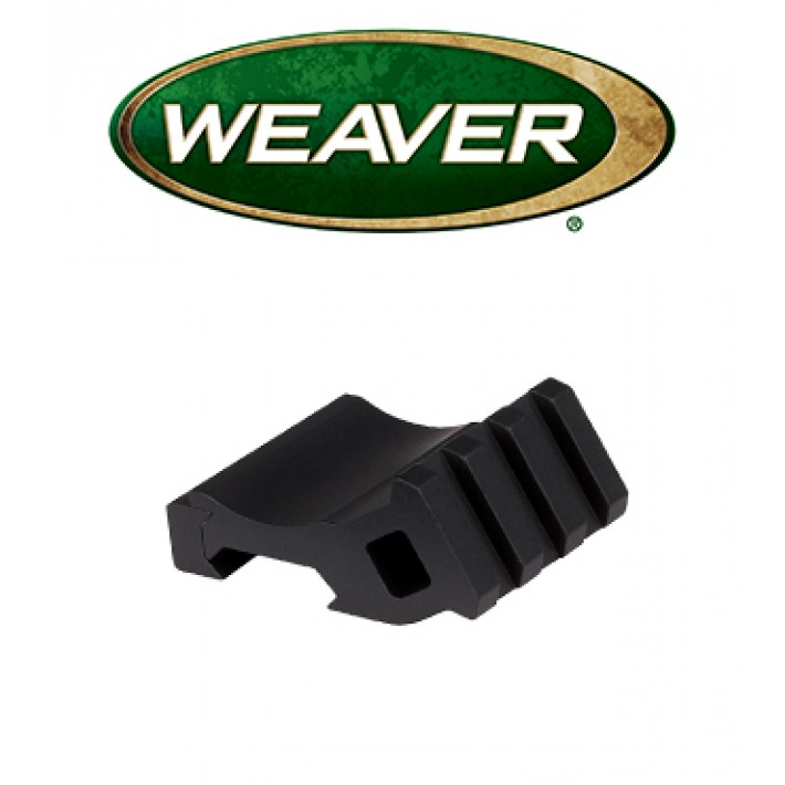 Base inclinada Weaver Offset Rail Adapter