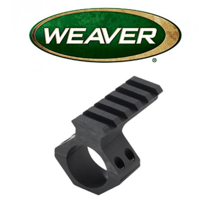 Anilla con raíl picatinny Weaver para visor de 30mm