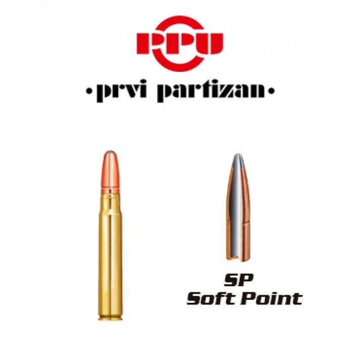 Cartuchos Prvi Partizan 9.3x62 Mauser 285 grains SP