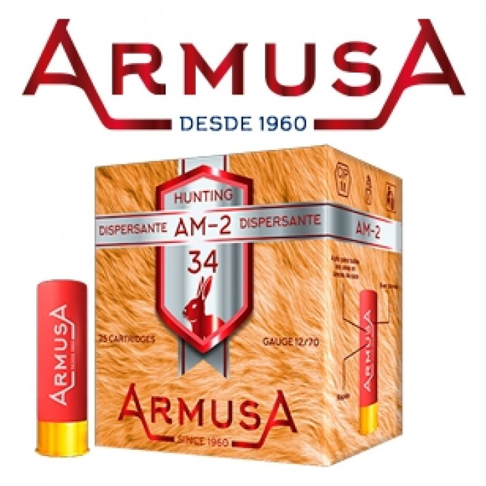 Cartuchos Armusa AM2 Dispersante 34 gramos