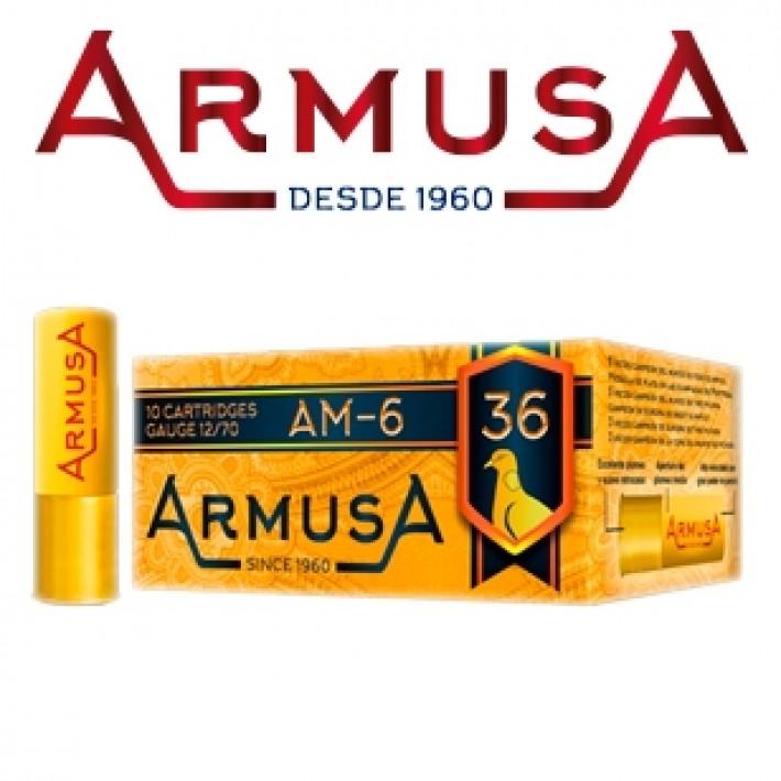 Cartuchos Armusa AM6 36 gramos