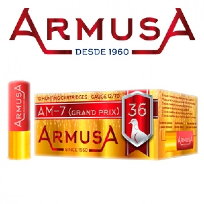 Cartuchos Armusa AM7 Grand Prix 36 gramos