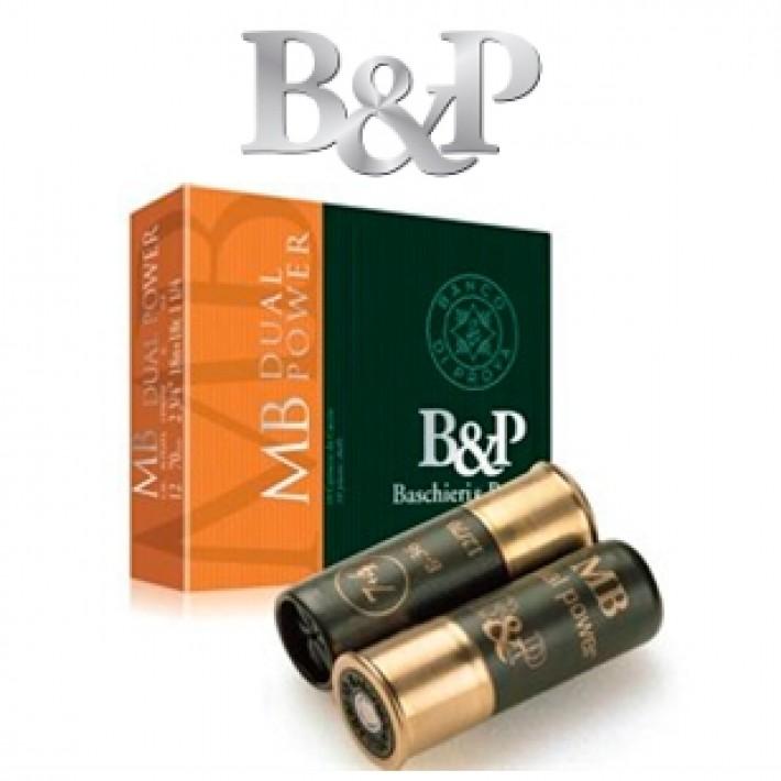 Cartuchos Baschieri & Pellagri MB Dual Power 36 gramos