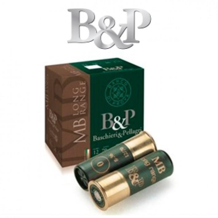 Cartuchos Baschieri & Pellagri MB Long Range 36 gramos