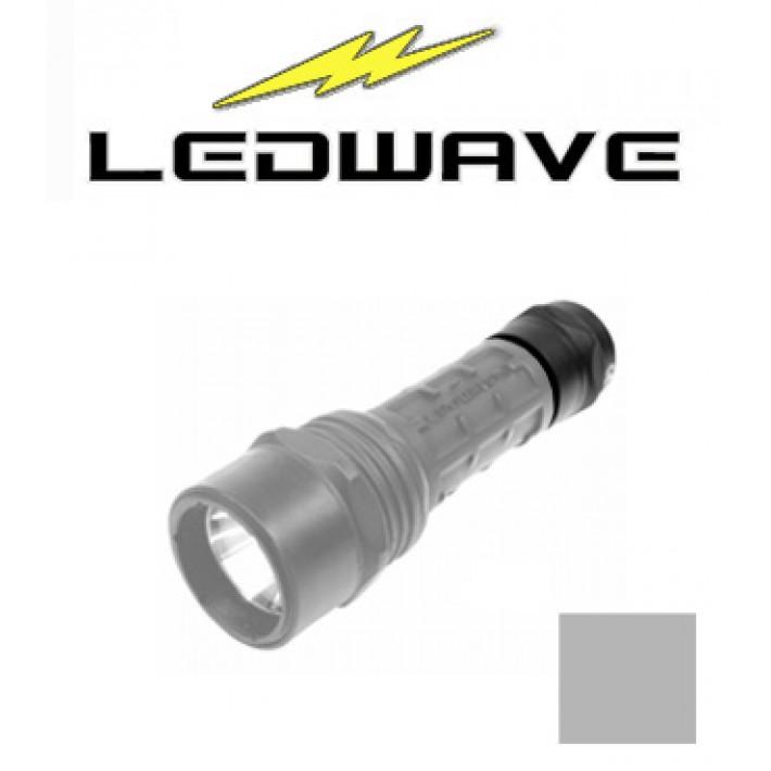Tapa interruptor Ledwave gris táctico para linternas Camo C-2 y C-4