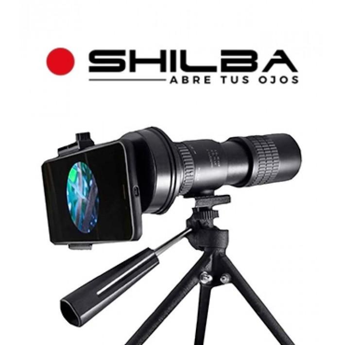 Adaptador de smartphone Shilba para monocular y prismáticos