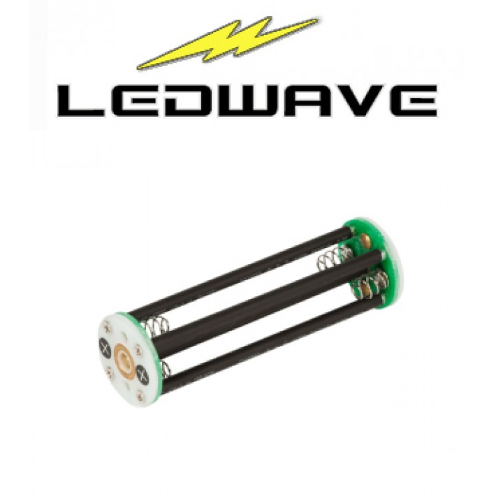 Adaptador Ledwave de 8 baterías AA para linterna LED Predator