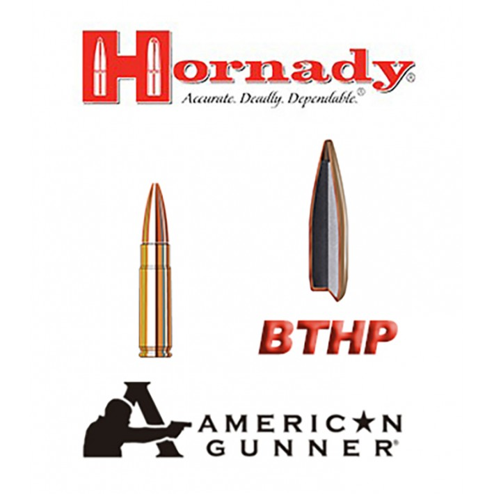 Cartuchos Hornady American Gunner .300 Blackout 125 grains HP