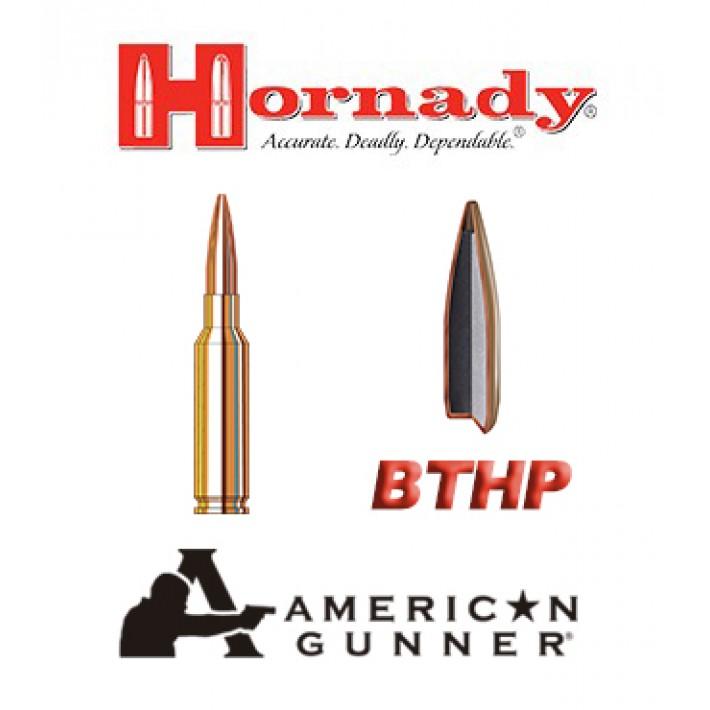 Cartuchos Hornady American Gunner 6,5 Creedmoor 140 grains BTHP