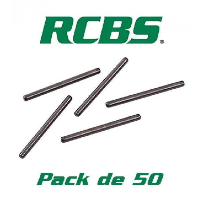Aguja desempistonadora RCBS Small Decapping Pin - 50 unidades