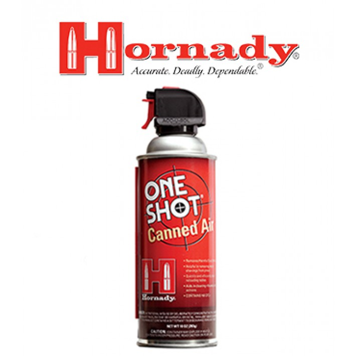 Aire comprimido Hornady One Shot Canned Air