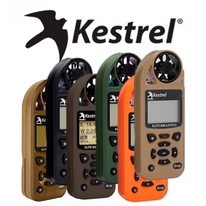 Anemómetro Kestrel 5700 Elite Weather Meter con Applied Ballistics y Link Bluetooth