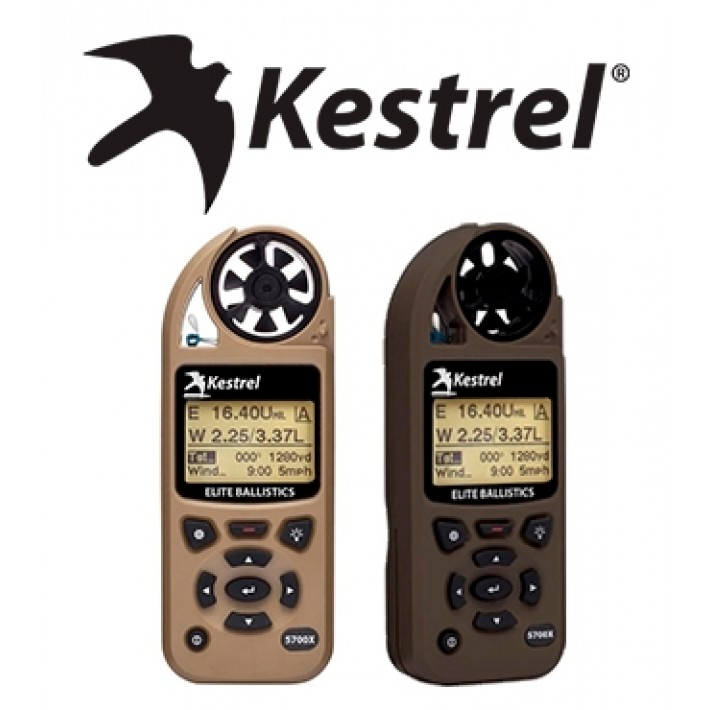 Anemómetro Kestrel 5700X Elite Weather Meter con Applied Ballistics y Link Bluetooth