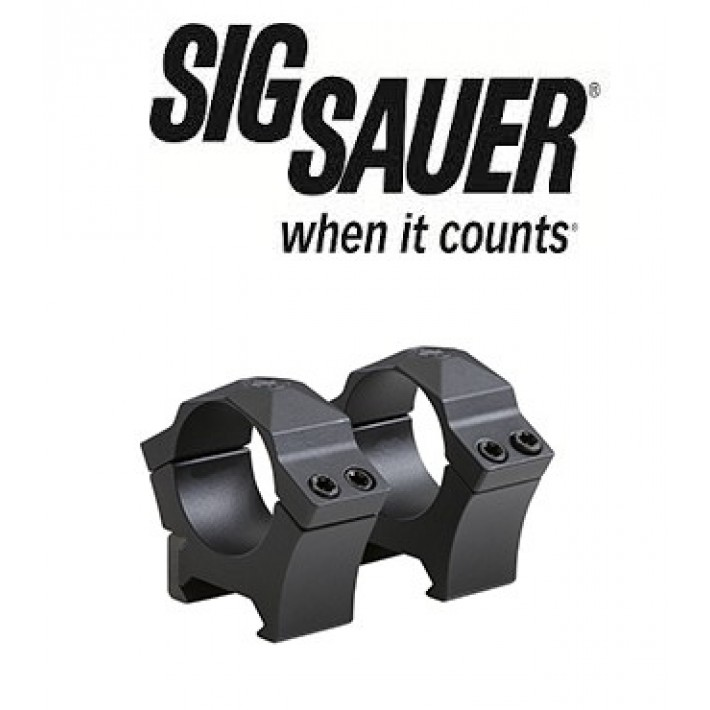 "Anillas Sig Sauer Electro Optics Alpha Tactical de 1"" mate"