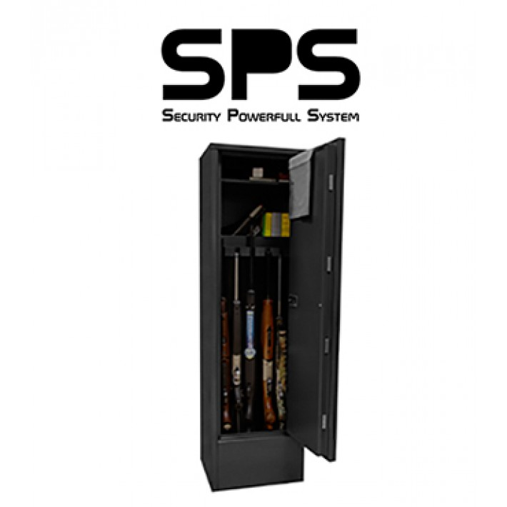 Armero SPS Estándar de Grado I para 5 armas con visor