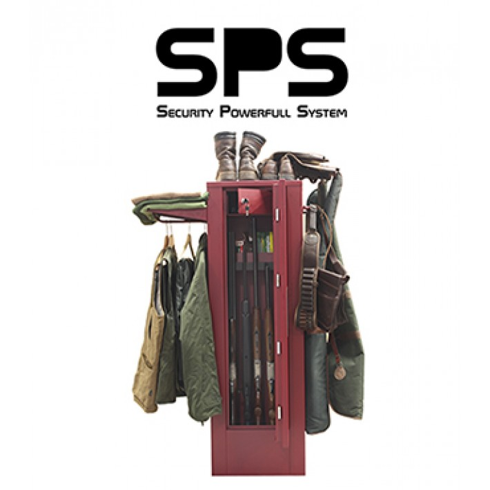 Armero SPS Premium de Grado I para 7 armas con visor