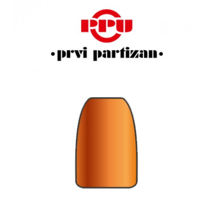 Puntas Prvi Partizan JHP calibre 9mm (.355) - 124 grains