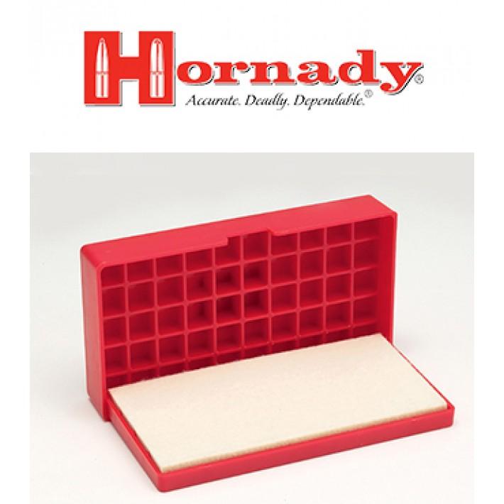 Bandeja para recalibrado de vainas Hornady Case Lube Pad & Loading Tray