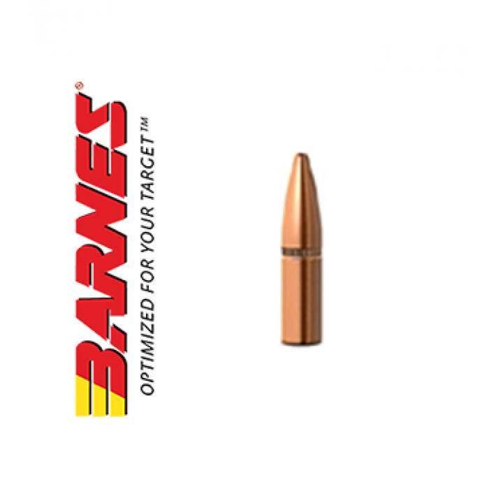 Puntas Barnes RRLP Flat Base calibre .224 - 55 grains