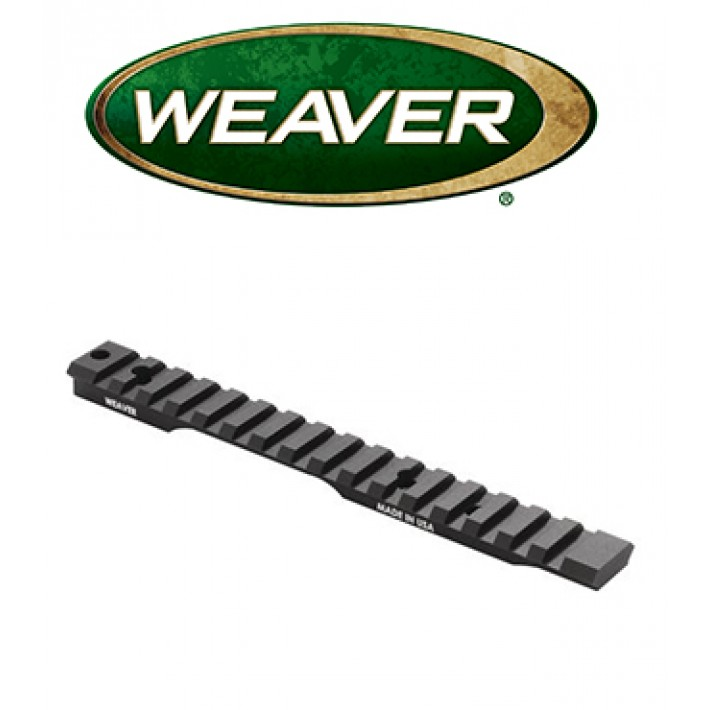 Base extendida Weaver Tactical Multi Slot de aluminio para Remington SA