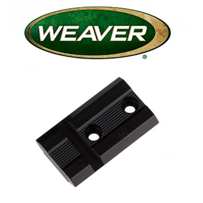 Base Weaver Top Mount de aluminio - 48004