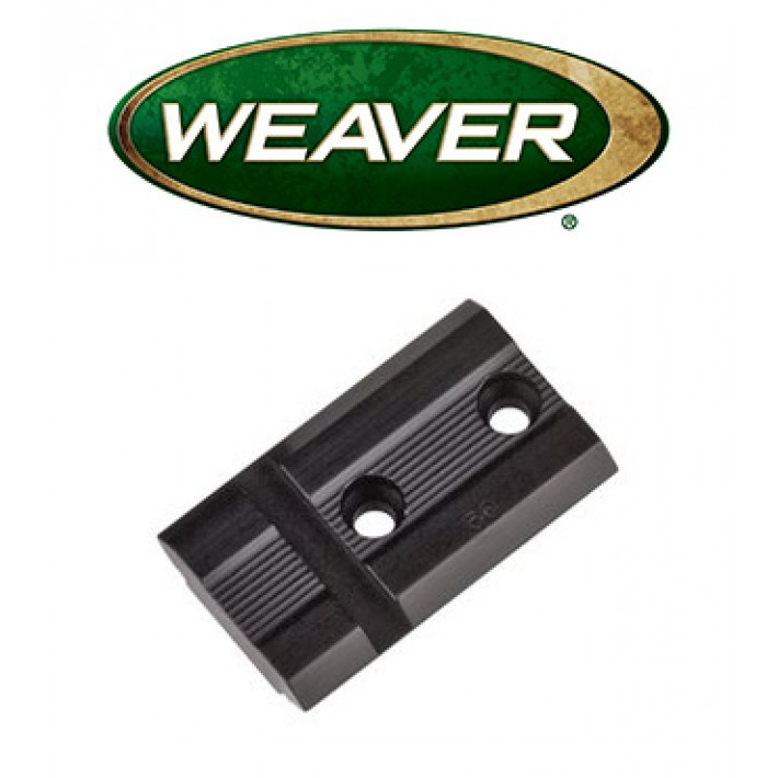 Base Weaver Top Mount de aluminio - 48437