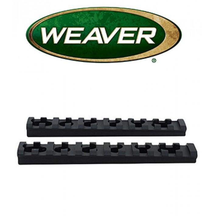 Bases Weaver AR15 RMS para guardamanos