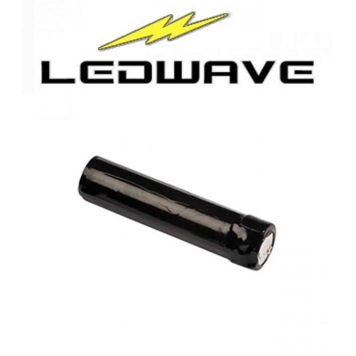 Batería recargable de litio Ledwave para linterna XP-1R de 2500 ma