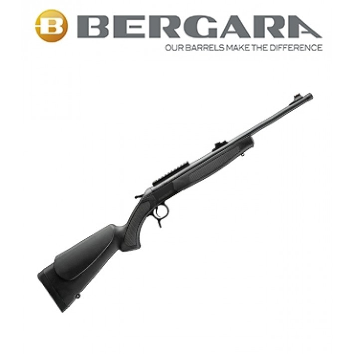 Rifle monotiro Bergara BA13 Take Down con culata negra
