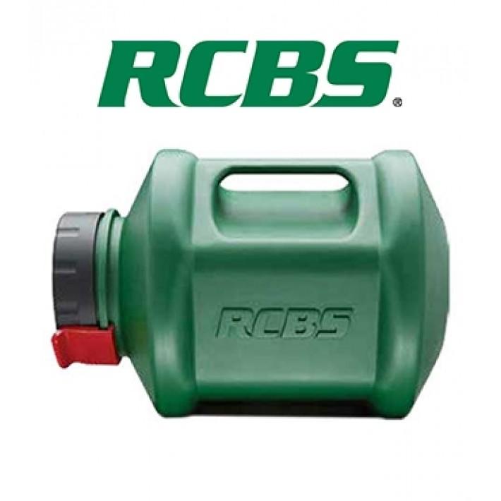 Bidón RCBS para limpiador giratorio de vainas