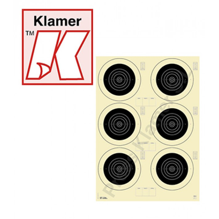 Blanco Klamer F-Class 100 m - 100 unidades