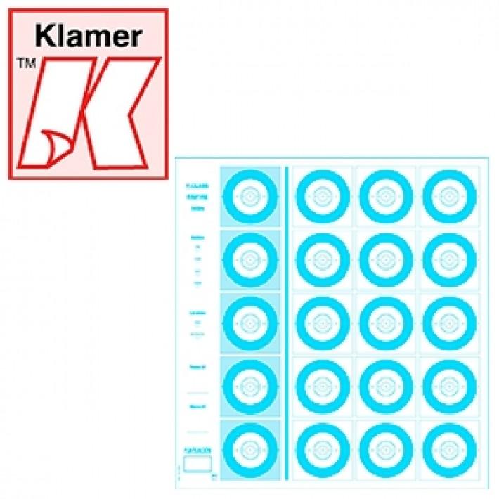 Blanco Klamer Mini F-Class 100 m - 100 unidades