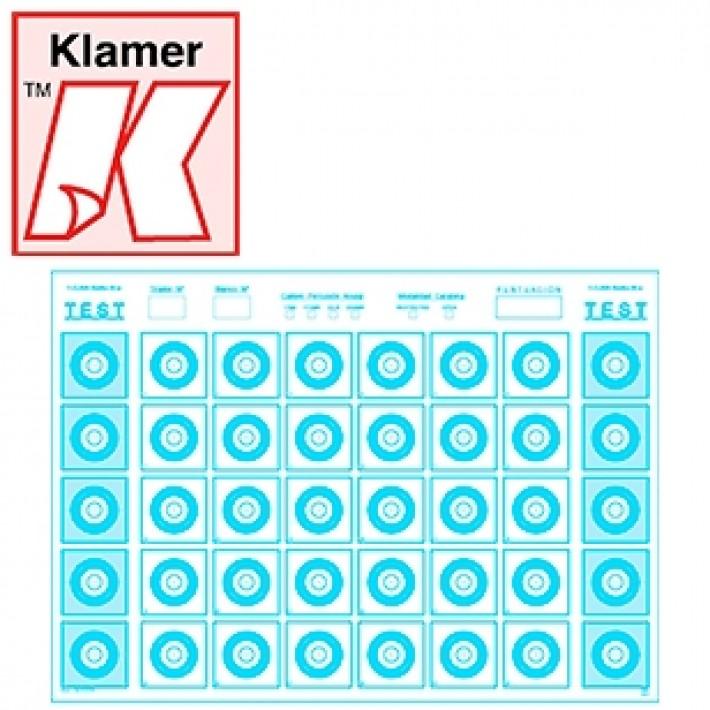 Blanco Klamer Mini F-Class 50 m - 100 unidades
