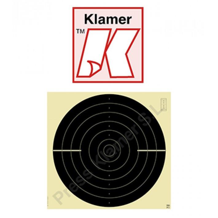 Blanco Klamer velocidad 25 / 50 m ISSF - 100 unidades