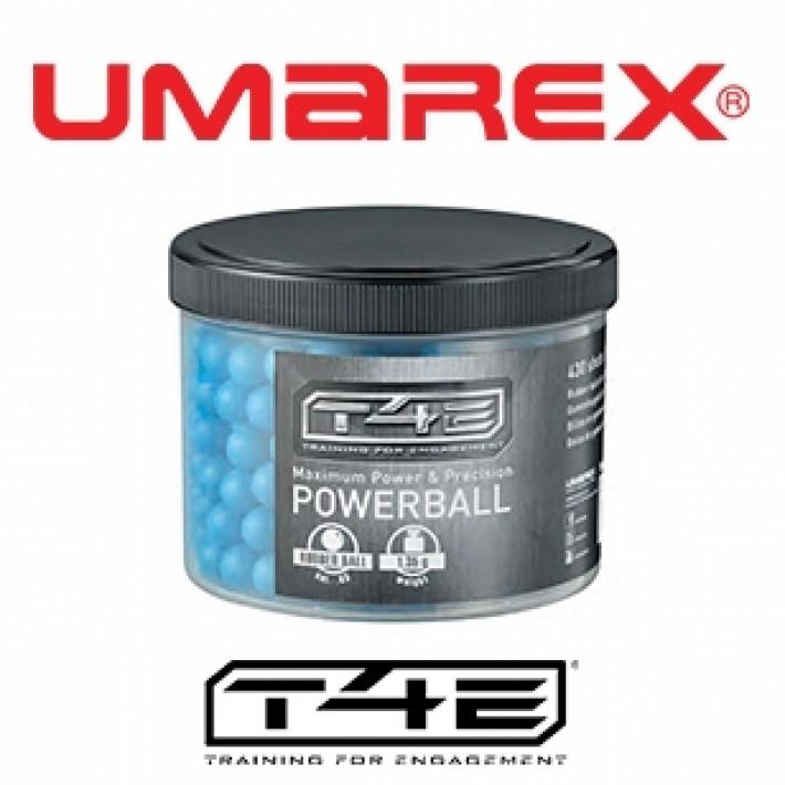 Bolas de goma Umarex T4E Powerball .43 1.35 g - 430 unidades