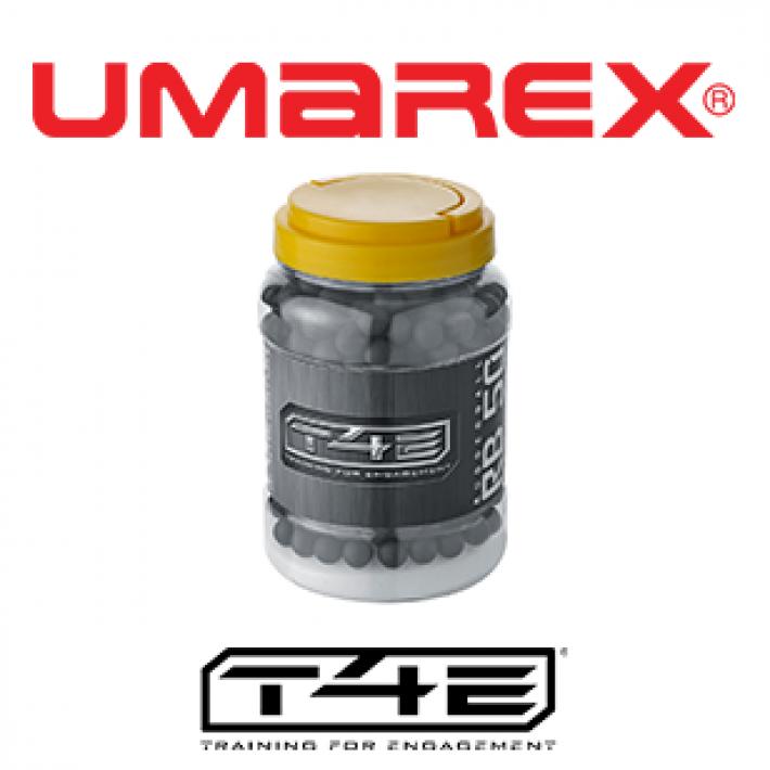 Bolas de goma Umarex T4E RB .50 1.08 g - 500 unidades
