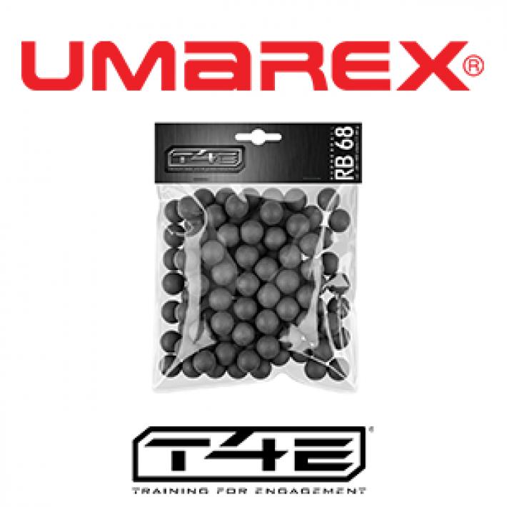 Bolas de goma Umarex T4E RB .68 6.1 g - 100 unidades