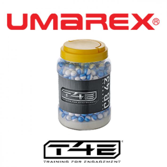 Bolas de tiza Umarex T4E CB .43 0.64 g - 2x250 unidades