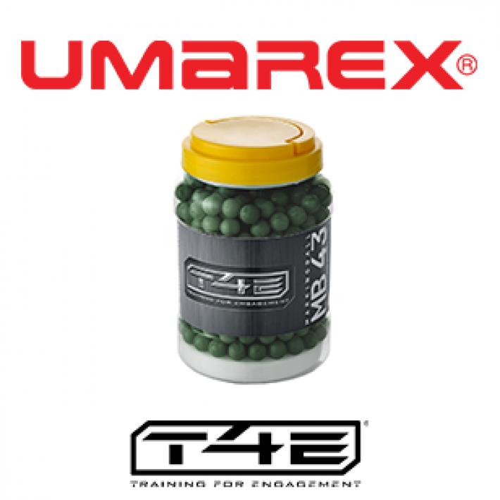 Bolas marcadoras Umarex T4E MB .43 0.78 g - 2x250 unidades