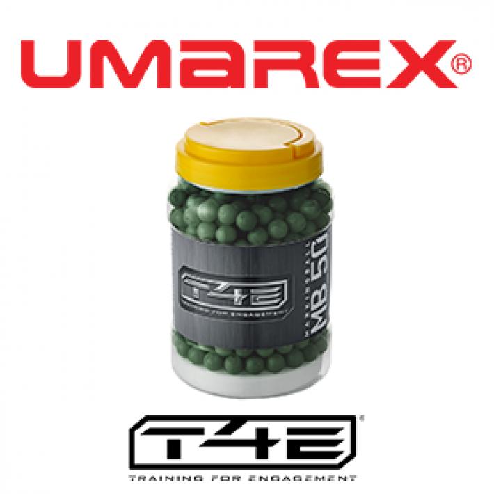 Bolas marcadoras Umarex T4E MB .50 0.78 g - 2x250 unidades