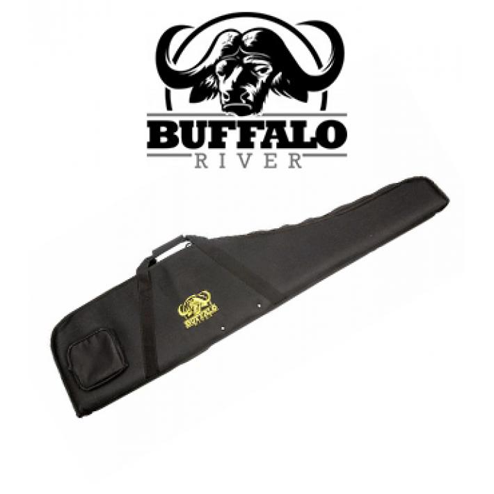 Funda Buffalo River Rifle Man Negra de 122 cm para rifle con visor