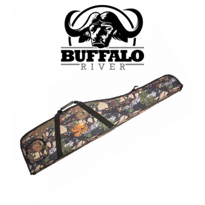 Funda Buffalo River Rifle Man Camo de 122 cm para rifle con visor